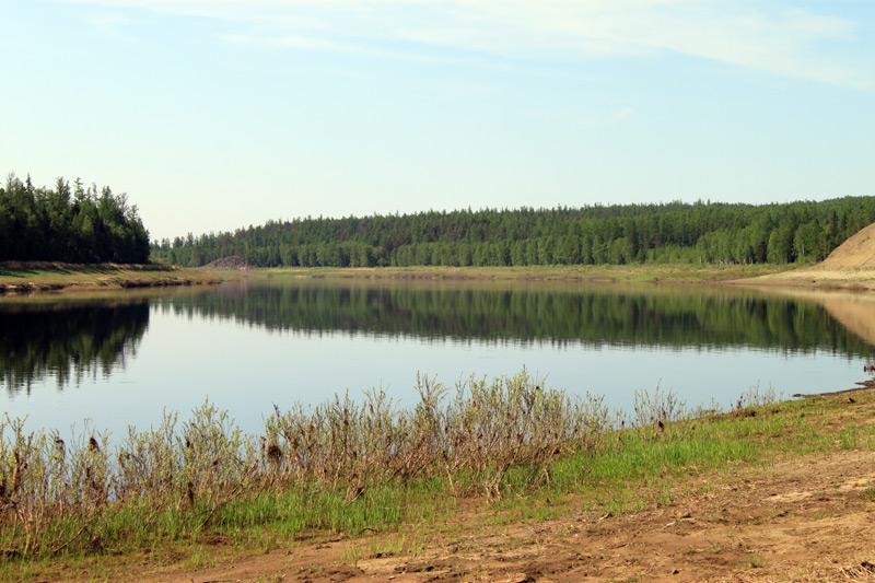 Эвенкия озеро анама река курейка